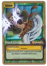 ONE PIECE CCG • Braham @ Flash Gun RARA FOIL ITALIANO CS-W10 • All'Arrembaggio