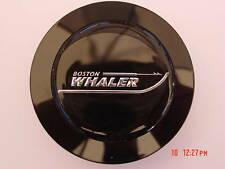 """BOSTON WHALER STEERING WHEEL CENTER CAP EMBLEM  2-3/16"""" NEW BLACK"""