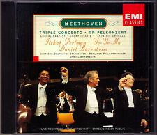 Barenboim: Beethoven Triple Concerto Yo-Yo Ma ltzhak perlman CD corale FANTASY