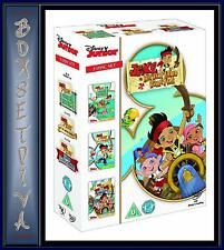 JAKE AND THE NEVER LAND PIRATES - TRIPLE PACK *BRAND NEW DVD BOXSET *