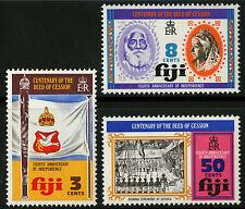 Fiji   1974   Scott # 354-356   Mint Lightly Hinged Set