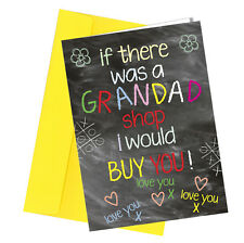 #273 GRANDAD BIRTHDAY / FATHERS DAY CARD Greeting Comedy Funny Humour Quality