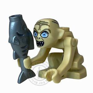 LEGO Genuine Hobbit Lord of the Rings Gollum Wide Eyes Minifigure - 9470 lor005
