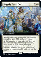Happily Ever After - Foil - Extended Art x1 Magic the Gathering 1x Throne of Eld