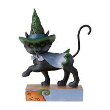 Jim Shore Halloween Mini Walking Black Cat 2020 New 6006705