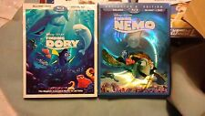 Finding Nemo and finding dory dvd & bluray