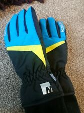 Mens Nevica Blue And Black Ski Gloves Snowboarding Size Small
