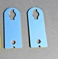 YAMAHA XJR1300 1200 PAIR OF MIRROR POLISHED STAINLESS STEEL HORN BRACKETS 1300