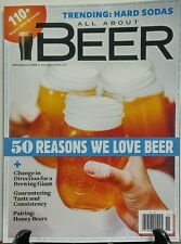 All About Beer November 2016 50 Reasons We Love Beer Brewing FREE SHIPPING sb