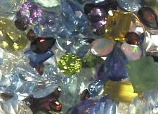 1000 CARATS OF MIXED CHIPPED AND ABRAIDED GEMSTONES
