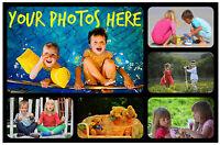 3 x personalisierte Foto Kühlschrankmagnete - mit ihren Own - tolles Geschenk /