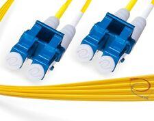 OS2 LC-LC 9/125 Singlemode Duplex Fiber Cable - [ 2 Meter ]
