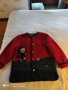 Originale veste Autrichienne laine foulée, taille 44