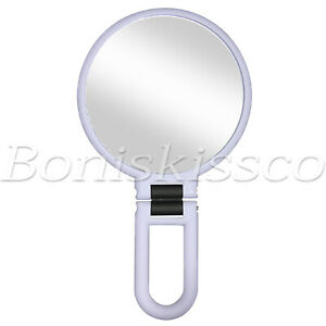 15X Magnifying Vanity Makeup Mirror Double Sided Handheld Foldable Cosmetic