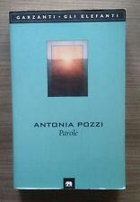 Antonia Pozzi : parole - garzanti 2001