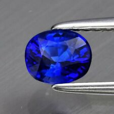 Beautiful! 0.76ct 5.3x4.4mm VS Oval Natural Royal Blue Sapphire, Heated Only