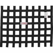 "G-Force Racing 4131BK 18"" x 23"" Racing Gear Ribbon Window Net; Black"