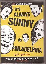 It's Always Sunny In Philadelphia Season 1 & 2 - DVD TV Shows One Two BRAND NEW