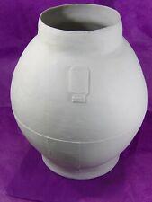 HELLA JONGERIUS pour ROYAL TICHELAAR MAKKUM Important vase M18 1280°C 1997