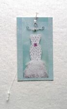 100 Fashion Tags/Boutique Tags Price Tags Cute Wedding Dress W/Plastic Loops