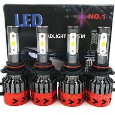 9006 9005 Total 540W 54000LM CREE LED Headlight High Low Beam Combo Kit 6000K