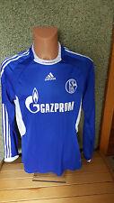 Schalke 04 Jugend MATCHWORN Trikot L Knappenschmiede Gazprom Jersey adidas Shirt