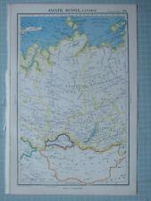 Cartina Siberia Russia.Cartina Da Parete Unione Sovietica Russia Siberia Taiga 244x163cm Vintage Mappa