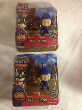 2 Fisher Price Mike The Knight Play Sets Mike &Yap & training post  NEW in BOX