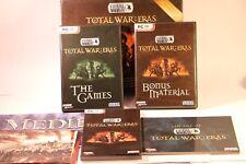 TOTAL War delle epoche passate per collezionisti BOX PC -3 periodi di TOTAL WAR SHOGUN Roma Medievale