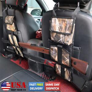 For Car Truck SUV Pickup Back Seat Organizer Rifle Gun Sling Bag Holder Storage