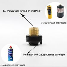 GAS CARTRIDGE APATER Gas Bottle Adapter Hot