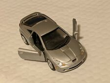 NEW 1:43 SILVER Variant 2002 Toyota CELICA GT coupe sports car Diecast welly