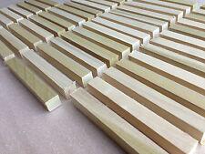 Tulipwood Pen Blanks 130x16x16mm Planed Woodturning 50 100 or 250 Bulk Quantity