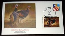 FLEETWOOD $5 1995 WILD TURKEY STAMP COVER