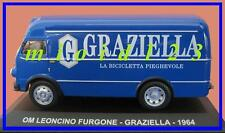 1/43 - OM Leoncino Furgone : GRAZIELLA - 1964 - Die-cast