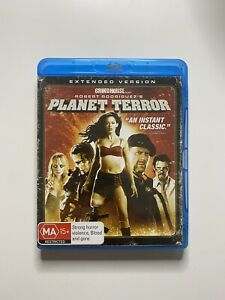 PLANET TERROR (2007) BLU RAY CULT EXPLOITATION GRINDHOUSE EXTENDED VERSION