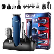 Hair Clipper Ear Nose Trimmer Haircut Men Electric Shaver Beard Razor Kit KM-550