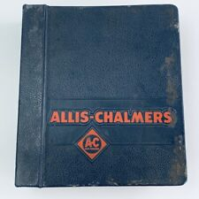 Allis Chalmers Service Repair Manual 60s Construction Machinery 460 562 555