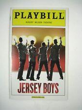 Jersey Boys Playbill 2009 August Wilson Theatre Ticket Flyer Matt Bogart Gehling