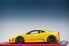 1/18 Looksmart MR Custom Novitec Ferrari F430 Scuderia Yellow Custom One Off