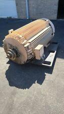 350 HP General Electric AC Electric Motor 1800 RPM Fr 5011LL TEFCBB 460 V EOK