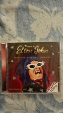 TRIBUTE TO ELTON JOHN -  TRUE LOVE-  BLUE EYES - SACRIFICE CD  NUOVO