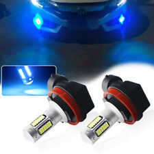 2X Extreme Bright Ice Blue H8 H11 30-SMD LED Bulbs For Fog/DRL Projector Light