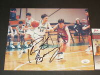 Peyton Manning High School Basketball Autographed 8x10 Photo Hand Signed JSA COA