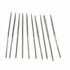 HAWK F340R - 10 Pc Needle Rasp Heat Treated File Set about 5-1/2 inches each New