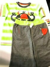 Healthtex Baby Boy T-shirt & 3D Interactive Shorts, 2pc Outfit Set 5T