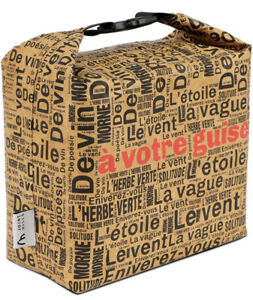 JOINT HILLS Reusable Tyvek Lunch Paper Bag Insulated Snack Eco Lunch To Go Box