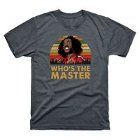 Sho'nuff The Last Dragon Who's The Master 80's Funny Vintage Men's T-Shirt Tee