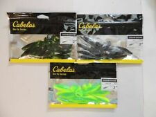 """Cabela's Go-To Series Hoochie Koochie 3"""" worms package of 10"""