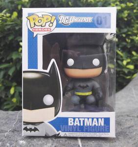 New! Funko POP Batman #01 DC Battle Batman vinyl activity figure